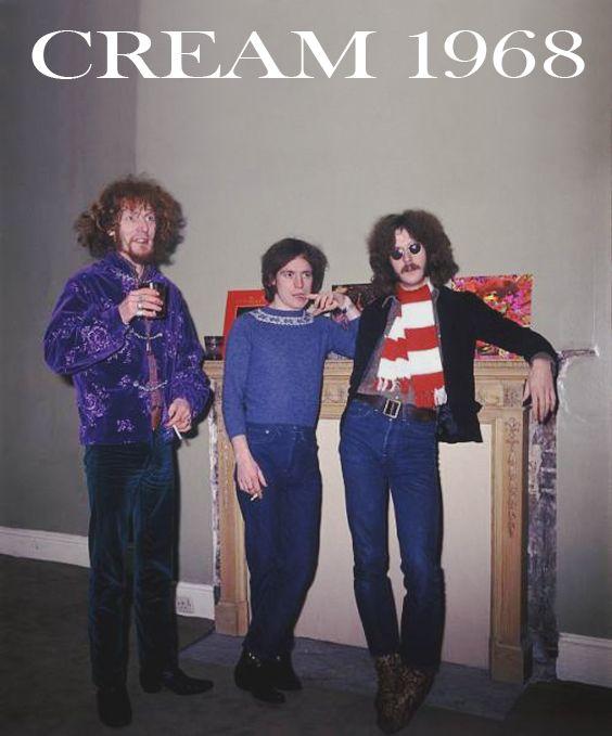 Cream 1968 Ginger, Jack and Eric | Cream eric clapton, Derek and the dominos, Eric clapton