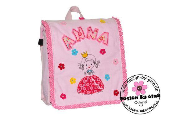 Kindergartenrucksack Prinzessin RW