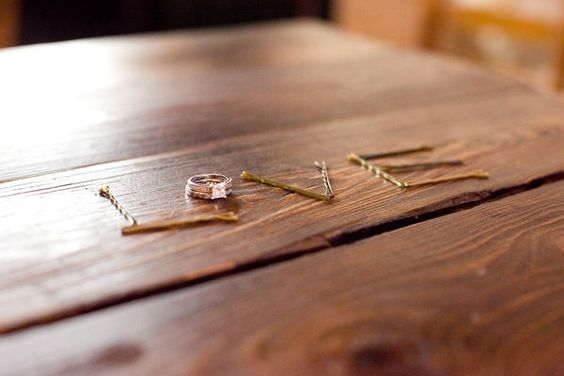 LOVE this idea - capture the little things while the bride is getting dressed