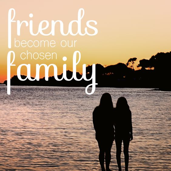 July 30th is International Day of Friendship. Today plan to celebrate or cherish friends that have became family. #family #bff