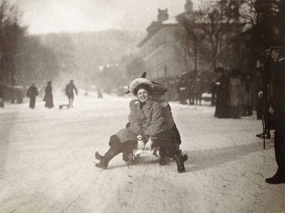 Image result for sledding 1904