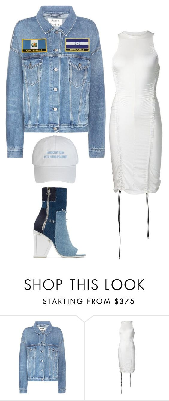 """""""Untitled #5670"""" by stylistbyair ❤ liked on Polyvore featuring Acne Studios, Y/Project and Off-White"""