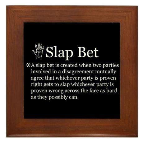 Slap Bet How I met your mother :D