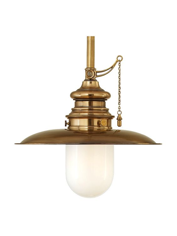 "Kendall Stem Pendant With 10"" Shade 