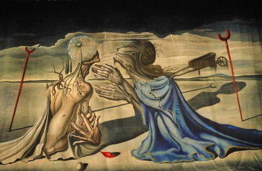 DALI Salvador - Tristan et Iseult - 1944