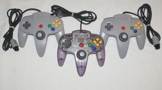 Atomic Purple + Gray Official OEM Nintendo 64 N64 Controller LOT 3 Controllers…