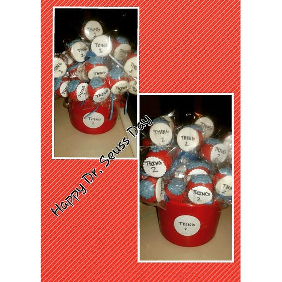 Dr. Seuss Cake pops on Etsy, $22.00