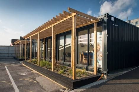 shipping container office - Google Search