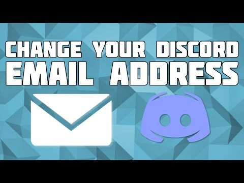 How To Change Discord Account Email Address Youtube Photoshop Tutorial Beginner Discord Blender Tutorial