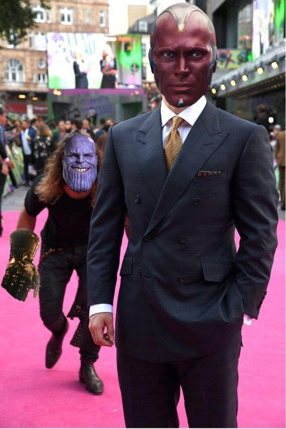 Be Carefully Version Haha Version Thanos Marvel Cosplayclass Marvel Vision Thanos Marvel Marvel Films