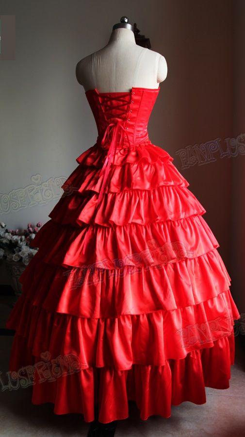 6e0702d356 Vestido Pomba gira Maria Padilha do Inferno LUXO - Atelier Cigana da ...