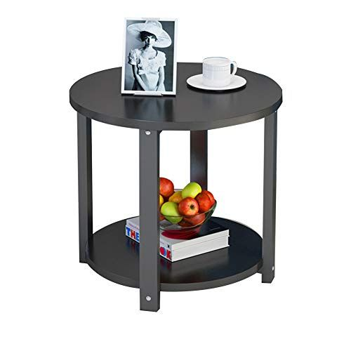 Tables Simple Corner Table Storage Small Round Table Wooden Side