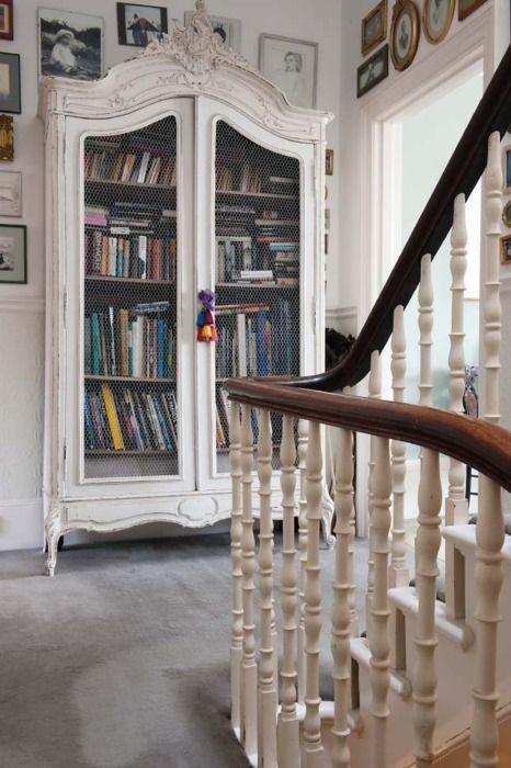 Armário para livros...lindo!!