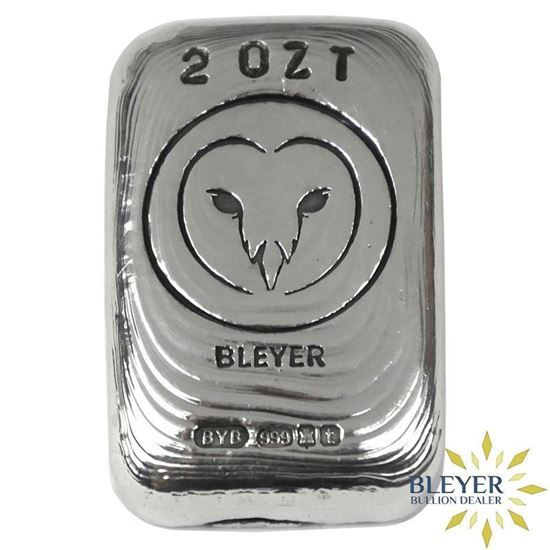 Hand Poured Silver Bar Silver Bars Hand Poured Silver