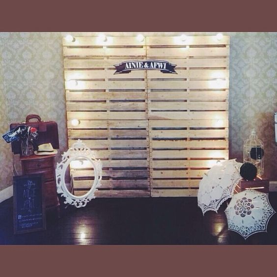 Backdrops Photo Booths And Pallets On Pinterest