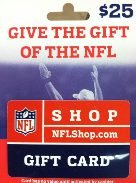 Gift cards, NFL and Cards on Pinterest