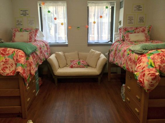 A PREPPY LIFE ☼  Graces board!  Pinterest  Furniture  ~ 060108_Classy Dorm Room Ideas