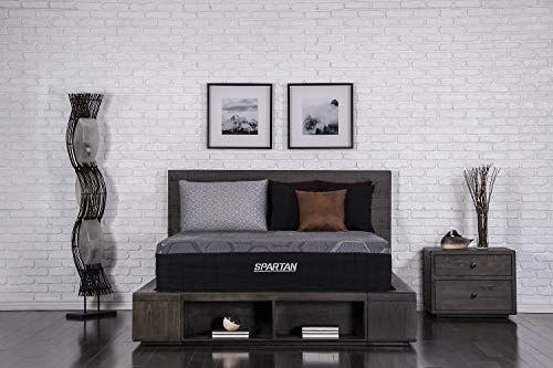 Brooklyn Bedding Spartan 13 5 Inch Coppergel Energex Hybrid Mattress With Nanobionic Recovery Technolog Brooklyn Bedding Plush Mattress Soft Mattress