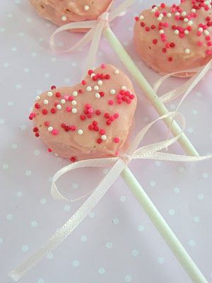 Chocolate Covered Rice Krispie Hearts