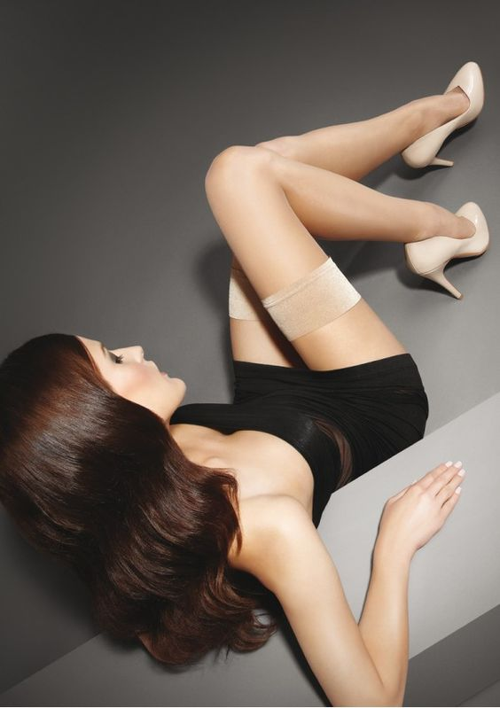 POŃCZOCHY EXCLUSIVE MAKE-UP HOLD-UPS 10 - e-marilyn.pl