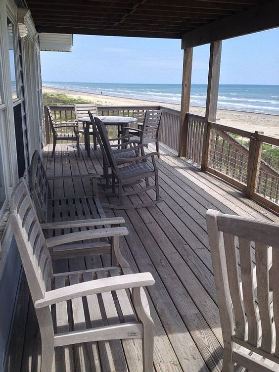 Like the decking and wood