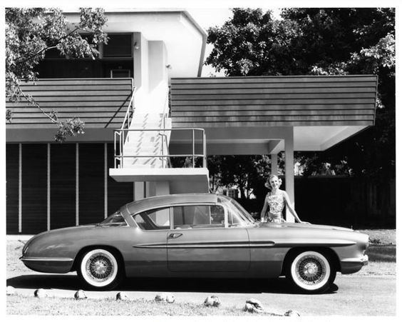 The 1956 Corvette Impala  ( Motorama Experimental Car)--http://mrimpalasautoparts.com