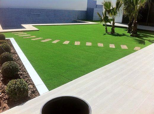 Dise o de jardines peque os de casas con o sin cesped - Jardines pequenos con encanto ...