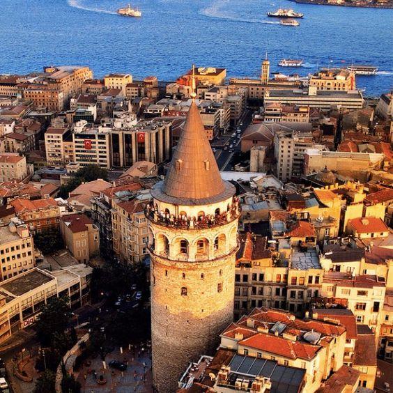 Torre de Gálata, Estambul, Turquía
