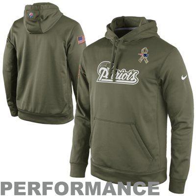 New England Patriots Nike KO Speed Wordmark Performance Hoodie Navy Blue