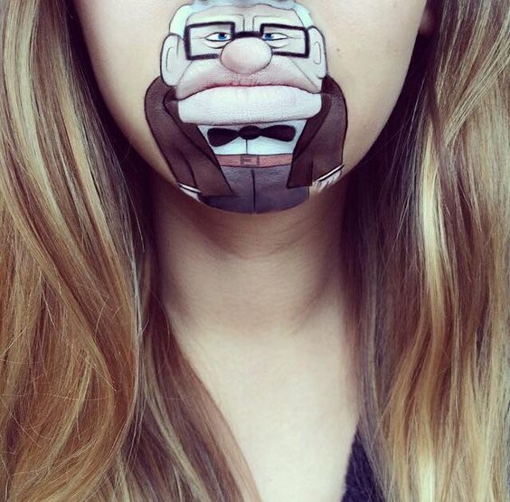 laura jenkinson - makeup lips - pop art - cultura pop - maquiagem boca labios personagens (12)