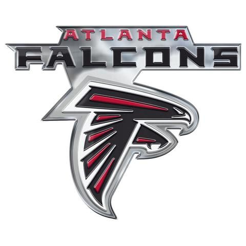 Atlanta Falcons Auto Emblem Color Alternate Logo Backorder Atlanta Falcons Car Emblem Falcons