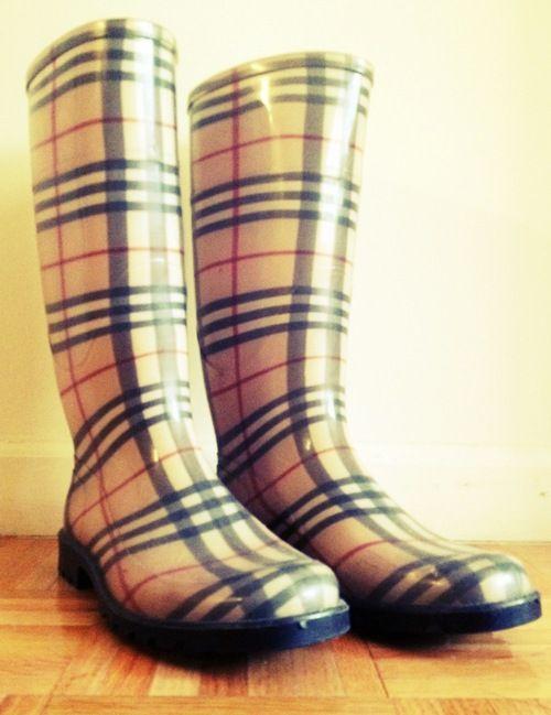 Burberry Rainboots - $130.00