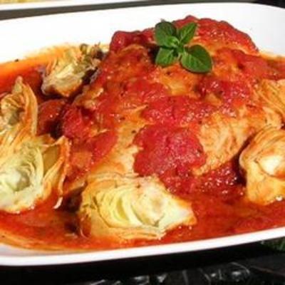 Artichoke and Sun-dried Tomato Chicken-sounds yummy!