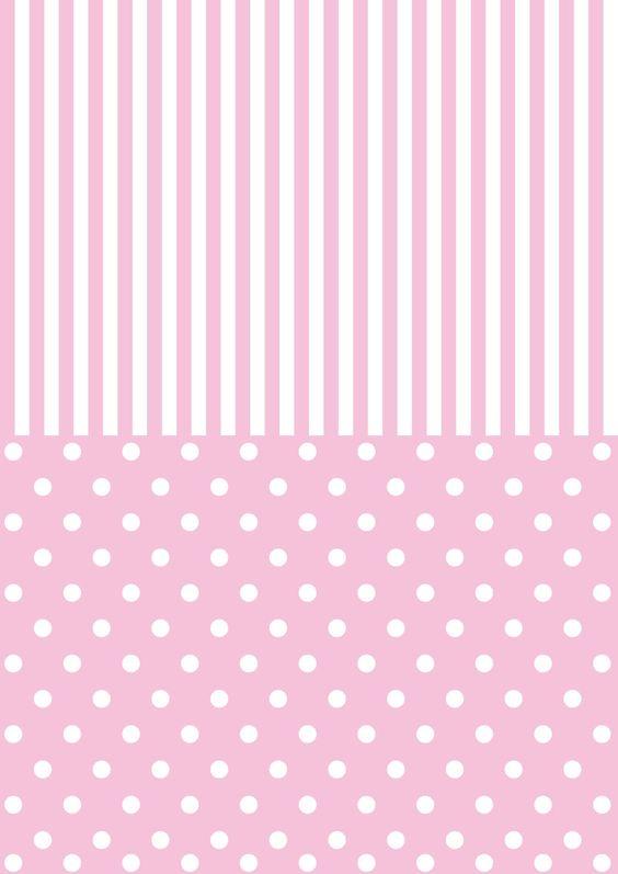 Pap is de parede rosa and papel de parede cor de rosa on - Papel de pared de rayas ...