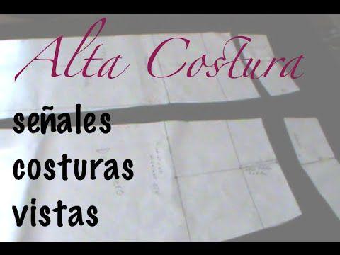Alta Costura Clase 10, Señales y Vistas Trazo Falda en Papel