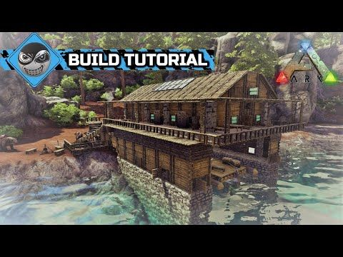 Ark Survival Evolved How To Build A House Boathouse Base Design No Mods Ark Survival Evolved Bases Ark Survival Evolved Tips Game Ark Survival Evolved