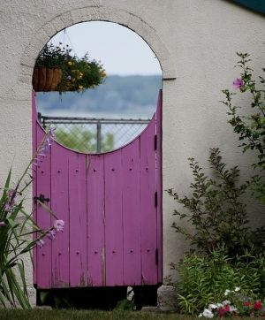Purple door by Gmomma