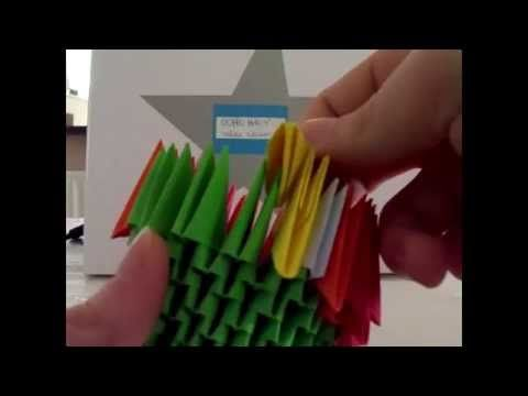 How To Make 3D Origami Owl - YouTube | 360x480