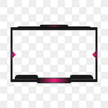 Digital Twich Live Streaming Overlay Border Border Clipart Live Streaming Png And Vector With Transparent Background For Free Download Overlays Free Overlays Overlays Transparent