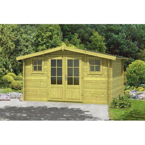 400 Cm X 300 Cm Gartenhaus Jarvis Garten Living Dach Biberschwanz Schwarz Fundament Mit Garden Living Garden Design Layout Sol 72 Outdoor