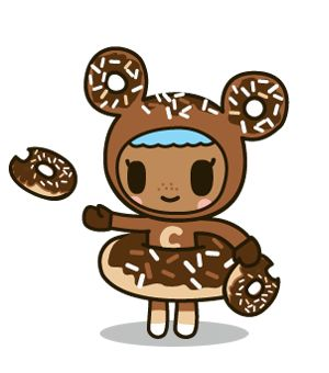donutella coloring pages donutella her sweet friends christmas 2014 pinterest coloring