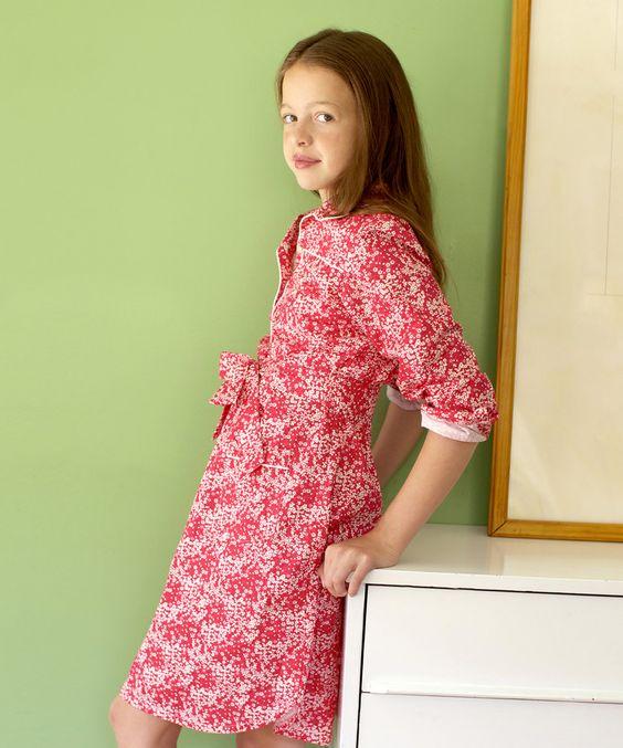 Love this Kayce Hughes Hot Pink Wildflowers Ali-Scott Dress - Girls by Kayce Hughes on #zulily! #zulilyfinds