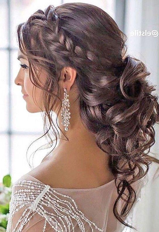 36 Elegant And Fresh Wedding Hairstyle Trendy In 2019 Sooshell Wedding Hair Half Medium Length Hair Styles Hair Styles