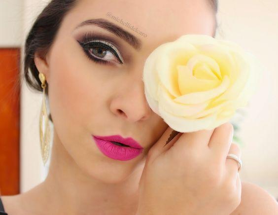 Michelli Make Up: Maquiagem para Festas de Fim de Ano.
