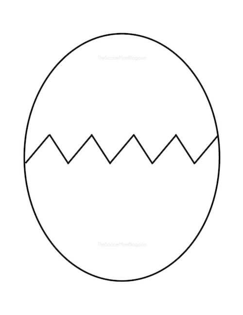 Free Printable Egg Pattern Easter Egg Pattern Dinosaur Crafts