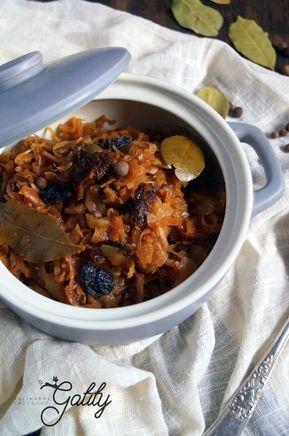 Kulinarne Przygody Gatity Przepisy Pelne Smaku Weganski Bigos Dieta Dr Dabrowskiej Diet Recipes Recipes Food
