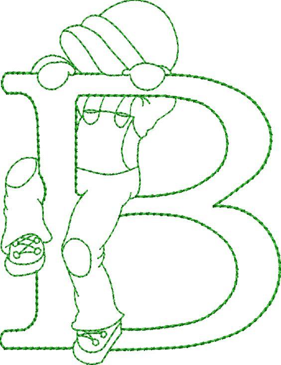 Alfabeto sunbobet menino:
