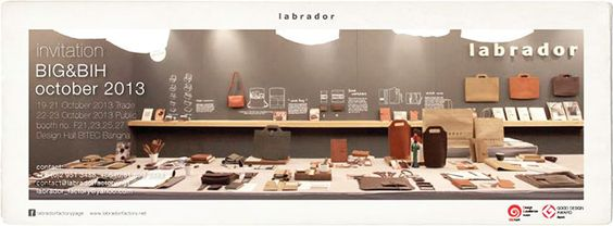 MEET LABRADOR, OUR FAVORITE DISPLAY! @ BIG+BIH 2013 | 19-23 October 2013