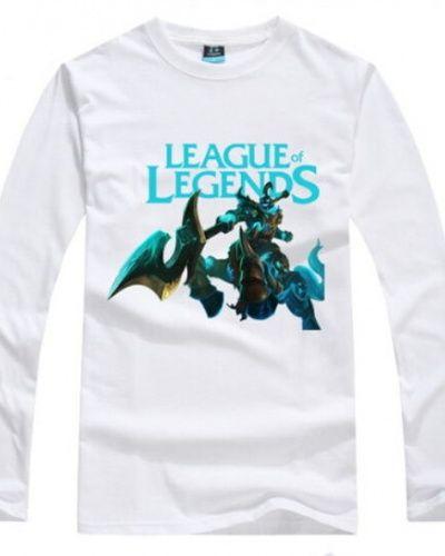 League of Legends long sleeve t shirt hero Hecarim plus size tee for men cheap -