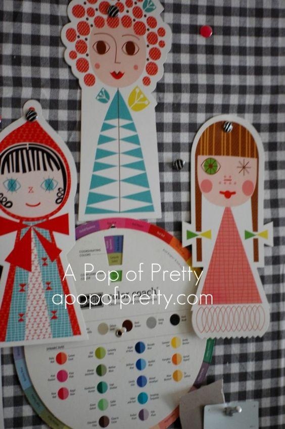 Room Tour: My 'Pop of Pink' Craft Room